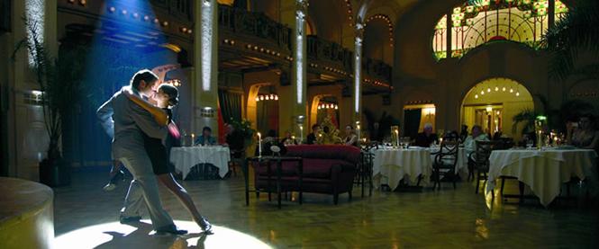 Гранд отель Европа это значок для Orien-Express. Красивый интерьер, дизайн и декор