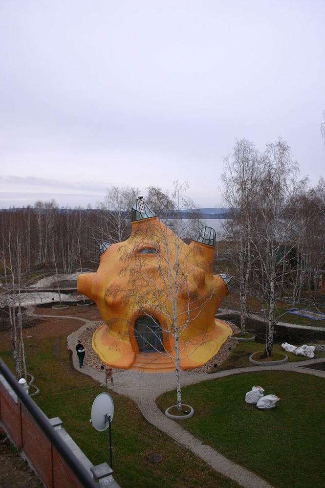 Дом-Ракушка (Shell House) в России от Юрия Гайдукова