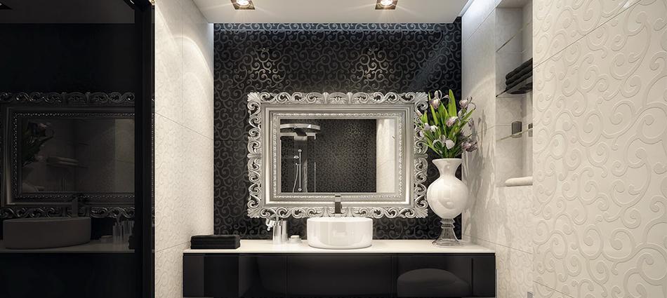Дизайнерские ванные комнаты от студии Geometrix Design slider4