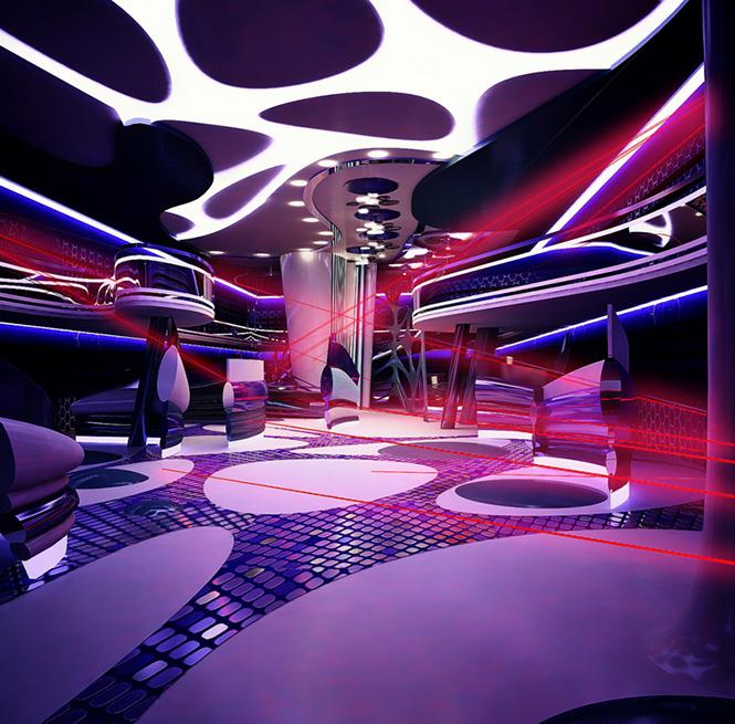 Своим проектом дизайна интерьера лазерного пейнтбольного клуба с нами поделилась Светлана Прохорова, став 33-им участником Архиконкурса 2012.    Конкурсная работа Светланы Прохоровой, Сочи, Россия                                                                                               2