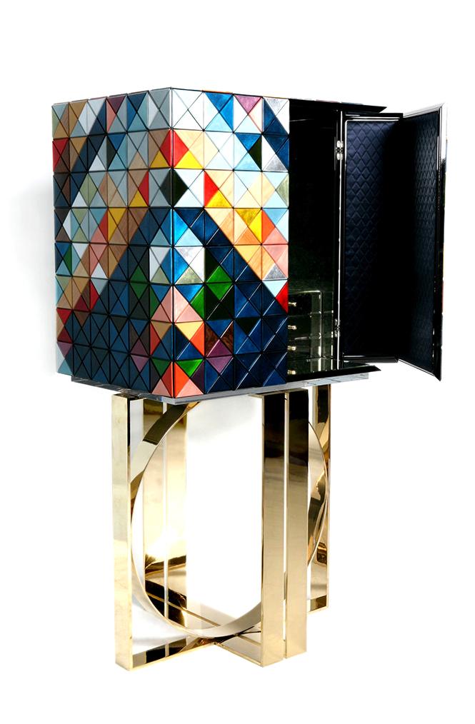 Boca do Lobo проектируют и производят мебель высокого ухудожественного вкуса, которая удовлетворяет даже самых требовательных клиент