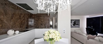 Дизайнеры Александра и Полина Федорова, дизайнеры архитектурной мастерской Александра Федорова выпустила новое здание в Зеленограде, элегантные апартаменты стиле ар-деко