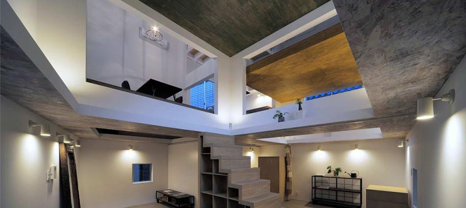 Дом Т (House T) в Японии от Hiroyuki Shinozaki Architects slider16