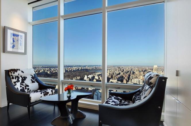 Представленный пентхаус расположен на 42 этаже Башни Блумберга (Bloomberg Tower) в центре Манхэттена, Нью-Йорк, США.  Пентхаус в Башне Блумберга на Манхэттене от Сюзаны Ловелл                                                                                                            3