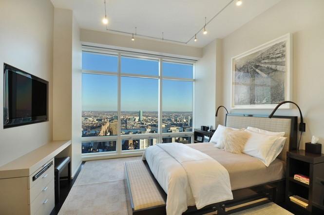 Представленный пентхаус расположен на 42 этаже Башни Блумберга (Bloomberg Tower) в центре Манхэттена, Нью-Йорк, США.  Пентхаус в Башне Блумберга на Манхэттене от Сюзаны Ловелл                                                                                                            4