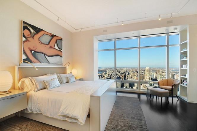 Представленный пентхаус расположен на 42 этаже Башни Блумберга (Bloomberg Tower) в центре Манхэттена, Нью-Йорк, США.  Пентхаус в Башне Блумберга на Манхэттене от Сюзаны Ловелл                                                                                                            5