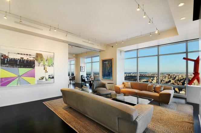 Представленный пентхаус расположен на 42 этаже Башни Блумберга (Bloomberg Tower) в центре Манхэттена, Нью-Йорк, США.  Пентхаус в Башне Блумберга на Манхэттене от Сюзаны Ловелл                                                                                                            8