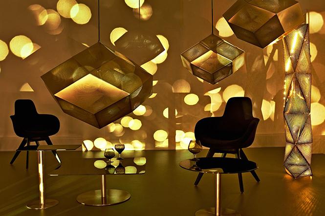 В продолжение темы самых популярных вещей с дизайнерской выставки London Design Festival, стоит отметить коллекцию аксессуаров для дома от уважаемого британского дизайнера Тома Диксона (Tom Dixon).  Том Диксон (Tom Dixon) - тайное дизайн коллекции                     Tom Dixon                       1