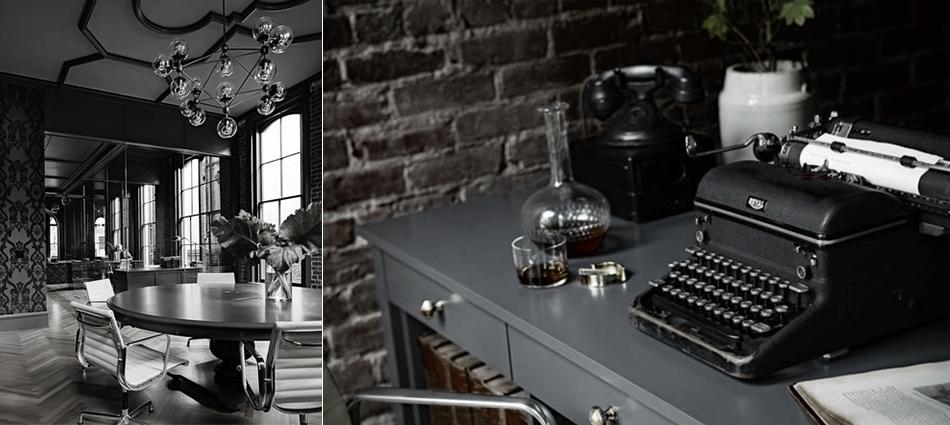 В честь «великого и ужасного» дня Halloween, так прочно вошедшего в нашу жизнь и закрепившего свои позиции в ряду любимых праздников, мы предлагаем вам ознакомиться с интересным интерьерным проектом Gothic Office в США.