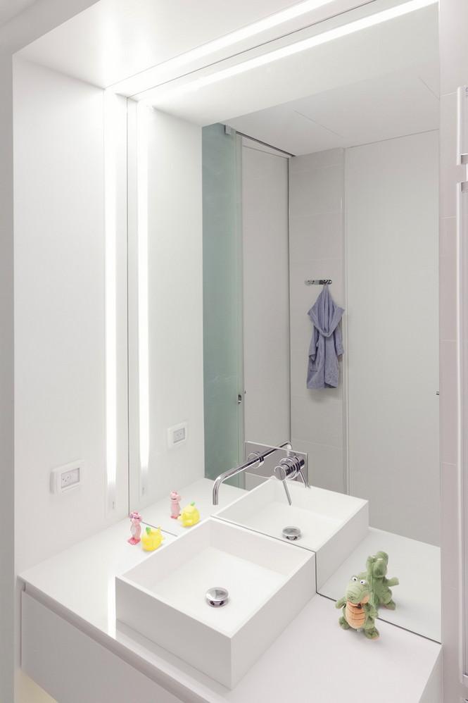 Проектное бюро GammaArc Group представило проект TLV Apartments3 Современные апартаменты площадью 150 кв метров расположены на 22 этаже одной из высоток в Тель-Авиве  Апартаменты в Тель-Авиве от GammaArc Group                                                    GammaArc Group 15