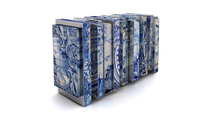 Дизайн-проект компании Boca do Lobo – символ культурно-исторического наследия Португалии. Недавно компания дополнила свою линию эксклюзивной мебели Heritage («Наследие») новой разработкой — сервантом под названием Heritage Sideboard, который выглядит как музейный экспонат