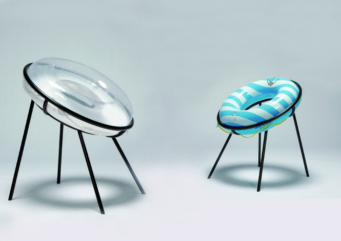 В последнее время на дизайнерских форумах все чаще попадаются довольно любопытные мебельные разработки, демонстрирующие эксперименты с различными техниками и материалами. Мы отобрали три продукта, представленные недавно авторами из Германии и Японии