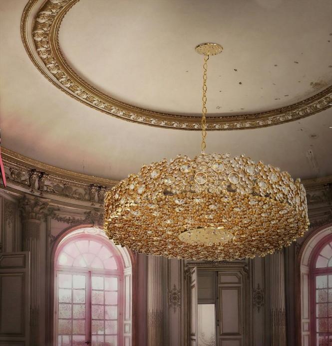 Эксклюзивная лампа из коллекции Guilty Pleasures, разработанная португальской маркой Koket, готова подарить дорогому клиенту свой уникальный свет.