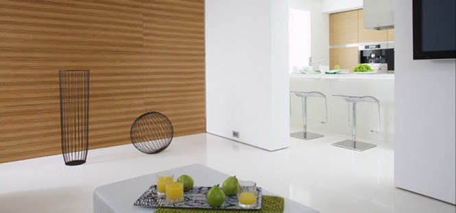 Сергей Наседкин и Анна Ульянова (дизайнеры из проектного бюро ARCH.625) представили свою новую работу – минималистскую квартиру White Cube
