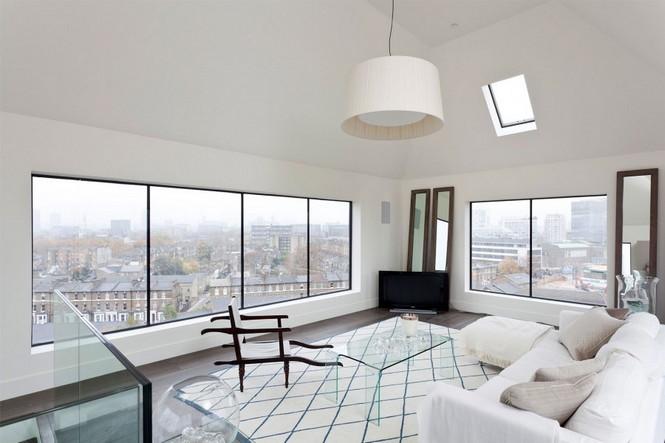Готическая водонапорная башня в Лондоне построена в 1877 году была куплена и превращена в роскошный дом, который имеет четыре спальни с прекрасным видом Лондона.