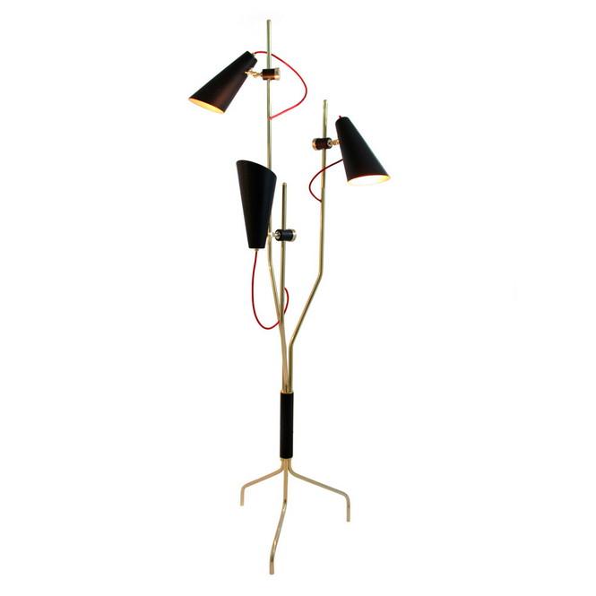 Напольный светильник Evans от эксклюзивного португальского бренда Delightfull — это идея, вдохновлённая 60-ми годами прошлого века.  Напольная лампа от португальского бренда Delightfull                                                                              Delightfull 1