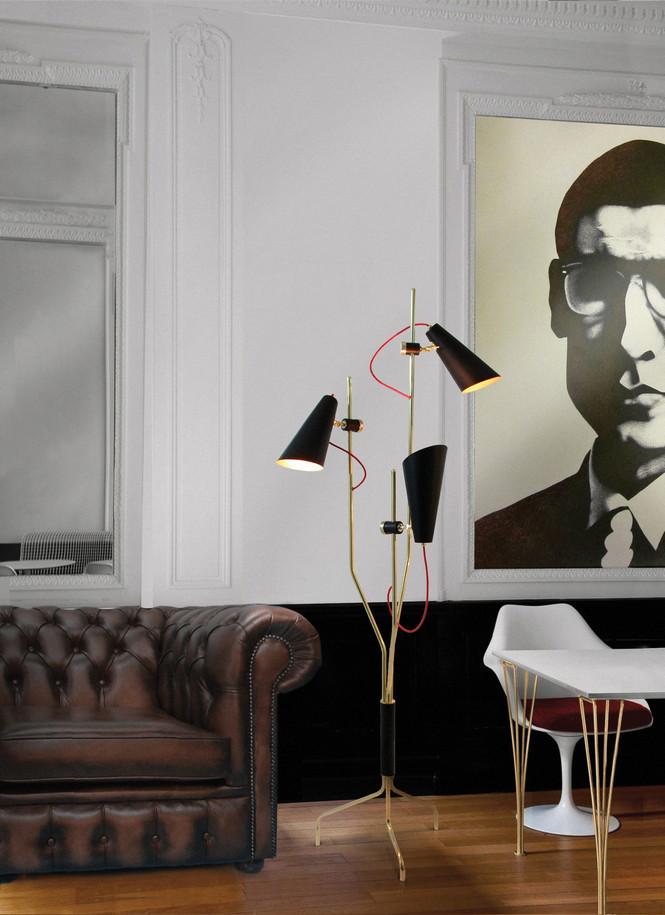 Напольный светильник Evans от эксклюзивного португальского бренда Delightfull — это идея, вдохновлённая 60-ми годами прошлого века.  Напольная лампа от португальского бренда Delightfull                                                                              Delightfull 2