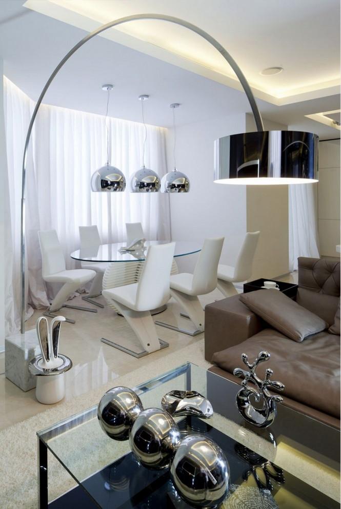 Российские дизайнеры интерьера из дизайн-бюро Geometrix Design создали свой очередной проект в престижном жилом комплексе  «Жилой квартал Шуваловский PRIMA» в Москве.  Роскошные московские апартаменты в жилом квартале Шуваловский                                                                                                                      3