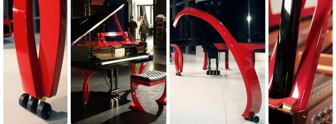 Специалисты компании resInno создают уникальные рояли, на создание которых их вдохновляют гоночные автомобили.