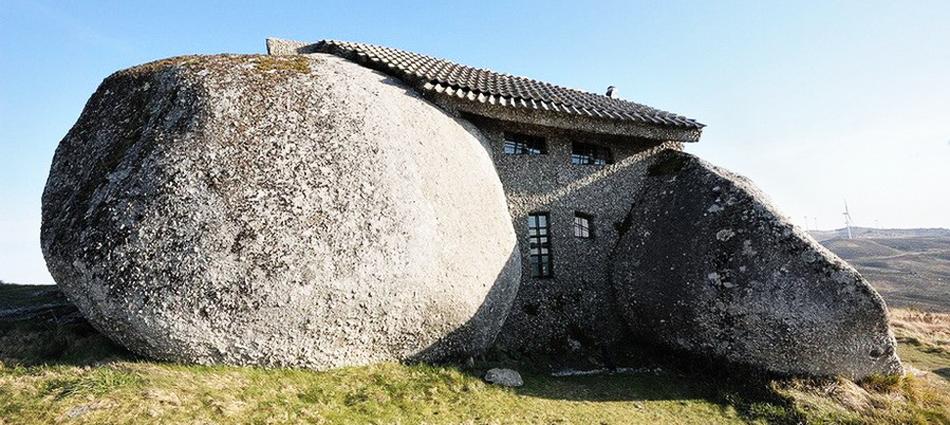 Португальская деревушка из камня — Монсанто                    222