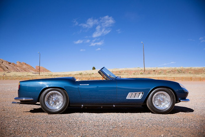 Увеличение продаж раритетных автомобилей в 2013 году california spider
