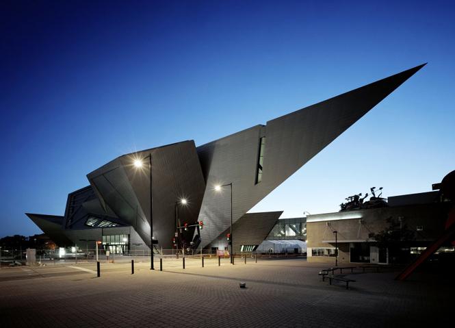 Американский архитектор-деконструктивист - Даниель Либескинд