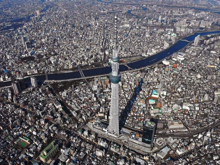 Самые дорогие города мира согласно Economist Intelligence Unit tokyo sky tree 102