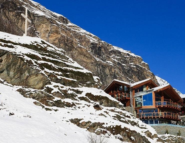 Шестизвёздочное шале в швейцарских альпах 0 61d2e ba20d84b orig