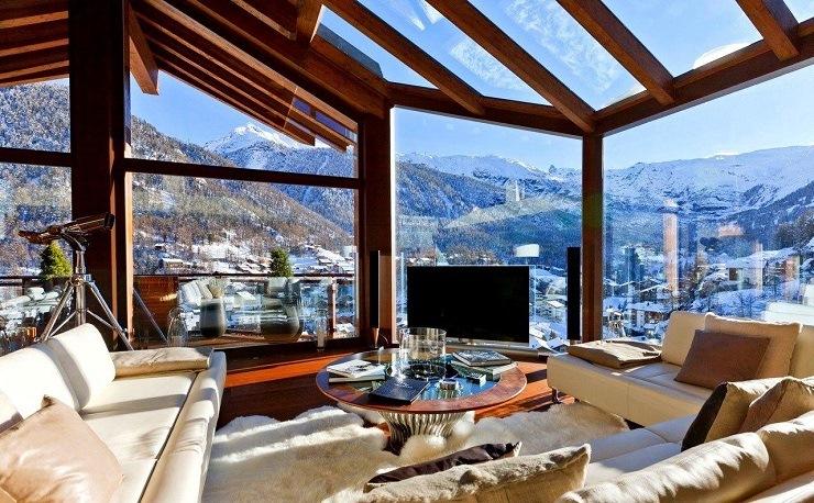 Шестизвёздочное шале в швейцарских альпах 1357900466  qolxzfyjly1