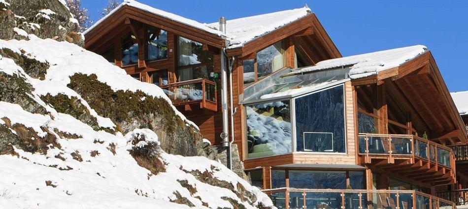 Шестизвёздочное шале в швейцарских альпах 5340692Zermatt Peak day ext
