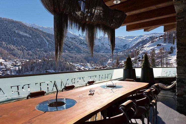 Шестизвёздочное шале в швейцарских альпах 6 ti zvezdochnyiy Chalet Zermatt Peak v gorah SHveytsarii