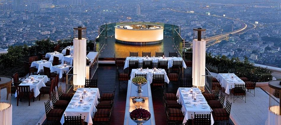 На крыше 64 этажа – роскошный Sky Bar в Бангкоке Bangkok2