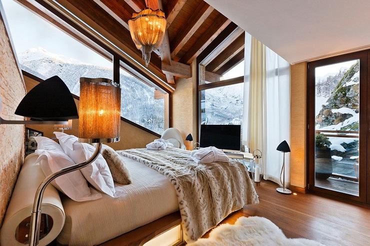 Шестизвёздочное шале в швейцарских альпах Chalet Zermatt 13