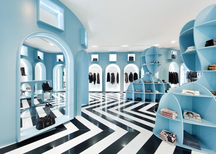 В итальянском стиле - мультибрендовый бутик Hit Gallery  dezeen HIT Gallery Hong Kong by Fabio Novembre ss 51