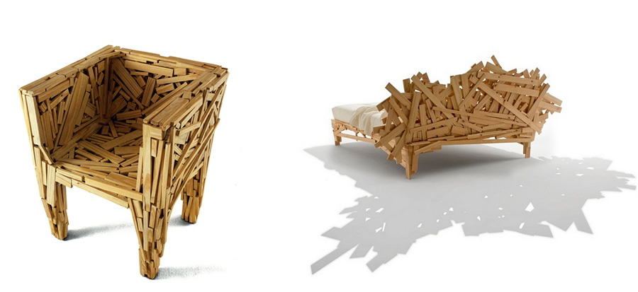 Непредсказуемая мебель от братьев Кампана 7