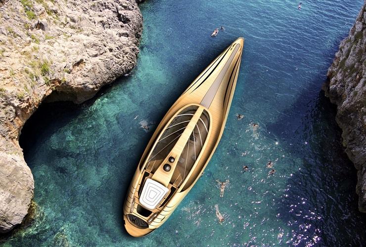 Яхта Cronos - экологичность и футуризм от итальянских дизайнеров 8006uk top