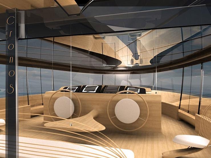 Яхта Cronos - экологичность и футуризм от итальянских дизайнеров DZGN CRONOS by Simone Madella and Lorenzo Berselli 61