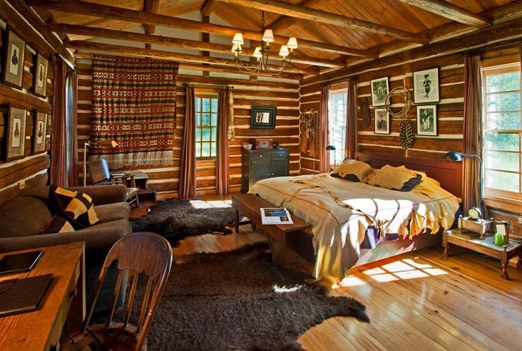Уютный стиль кантри в домашнем интерьере Major Ross 8065