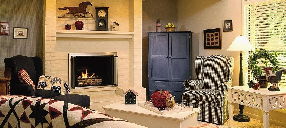 Уютный стиль кантри в домашнем интерьере artleo