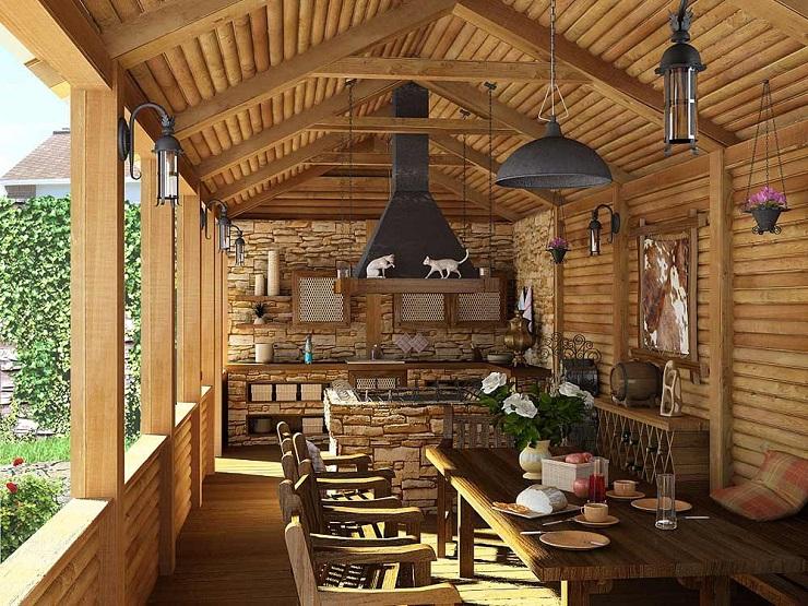 Уютный стиль кантри в домашнем интерьере image 15591