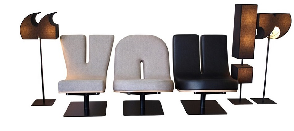 Коллекция мебели от французской компании Tabisso – алфавит и цифры TABISSO 1
