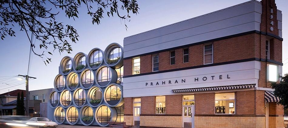 Необычный паб отеля Prahran Hotel в Мельбурне GS Prahran Hotel External View web 1