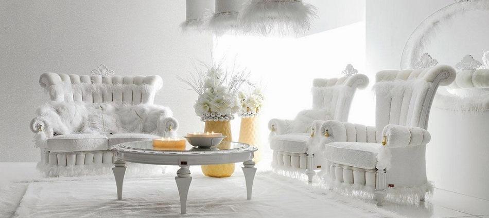 Белый цвет в интерьере – свежесть и воздушность пространства feat