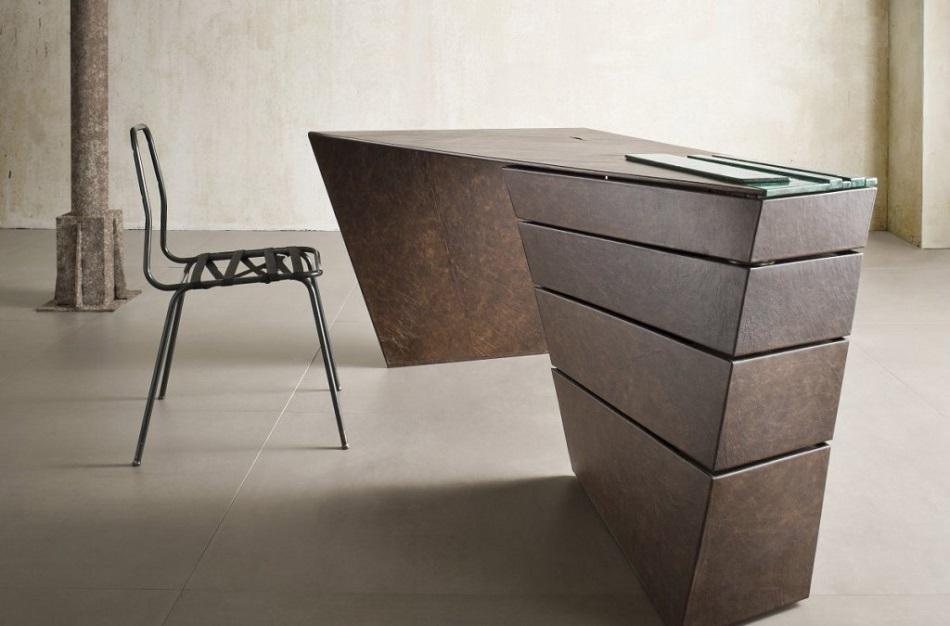 Эксклюзивная мебель: стол Torque от I M Lab  torque desk by i m lab 01 1024x675 1