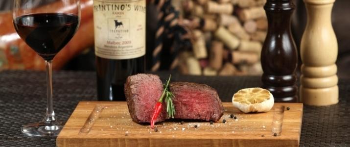 Стильный ресторан в Киеве- Tarantino Grill&Wine Bar