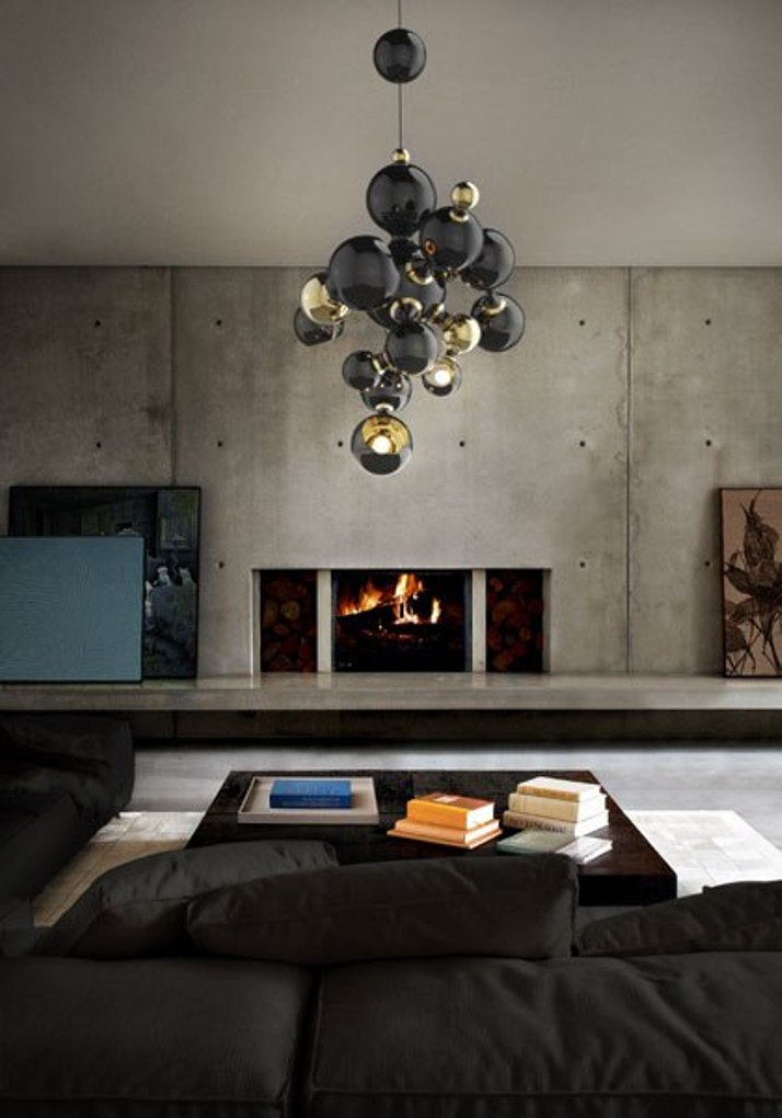 Современные светильники  Современный светильник Atomic от бренда Delightfull atomic1