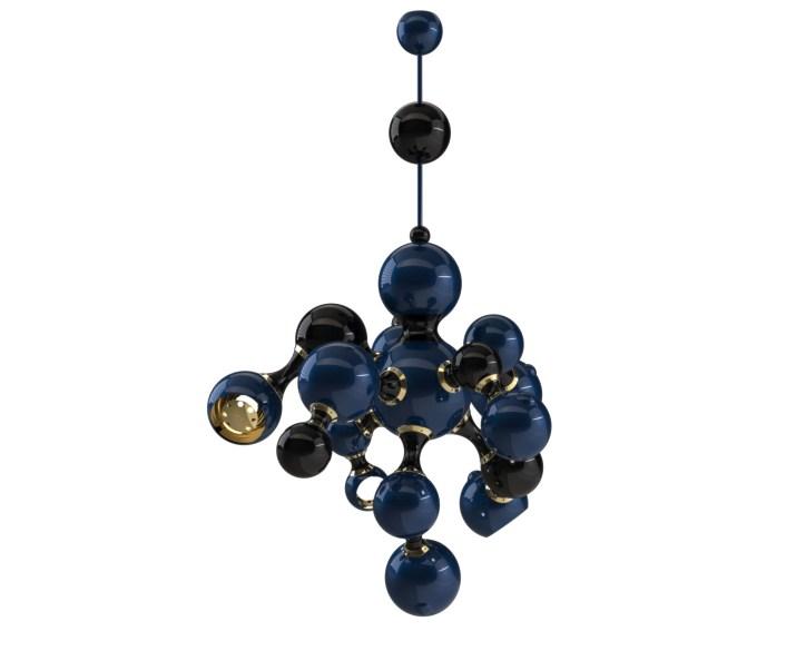 Современные светильники  Современный светильник Atomic от бренда Delightfull atomic2