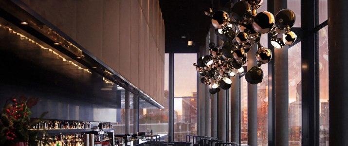 Современные светильники  Современный светильник Atomic от бренда Delightfull multi light sculptural sphere pendant chandelier 062