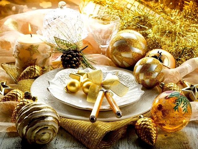 Новогодняя сервировка стола  – создайте праздник в вашем доме! artleo
