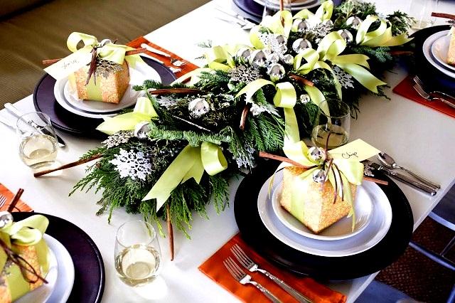 Новогодняя сервировка стола  – создайте праздник в вашем доме! img 9881